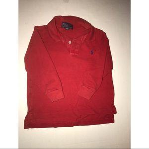 Polo Ralph Lauren long sleeve polo sz 3T boys